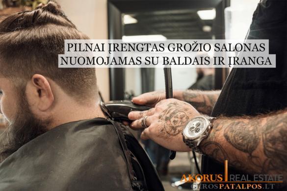 gerospatalpos.LT - ĮRENGTAS GROŽIO SALONAS SU BALDAIS-1