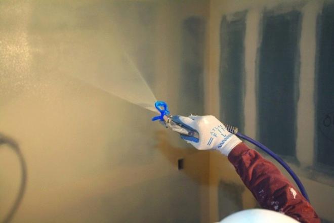 Darbas su glaisto purškimo aparatu Olandijoje-0