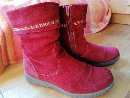 Batai, rudeniniai/pavasariniai raudoni zomša-0
