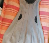 Lininė suknelė Moliūgėlis-0