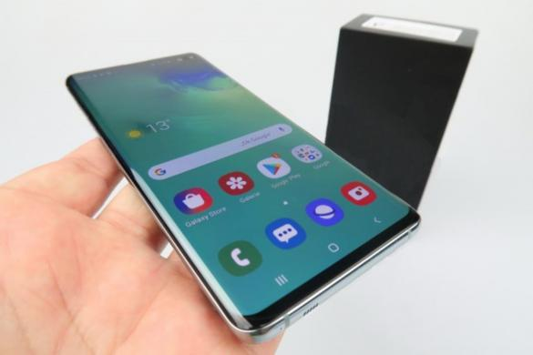 GALAXY S10+ PLUS-AMOLED-GORILLA GLASS 5-512GB+RAM 4GB-LT KALBA+DEKLAS-1