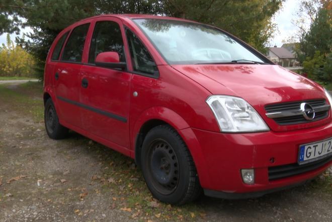 parduodu automobilį Opel Meriva-0