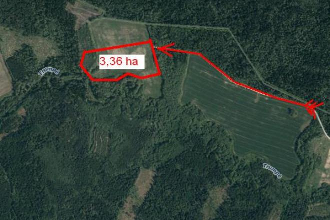 Pigiai žemės sklypas (3,36 ha) gražioje vietoje-0