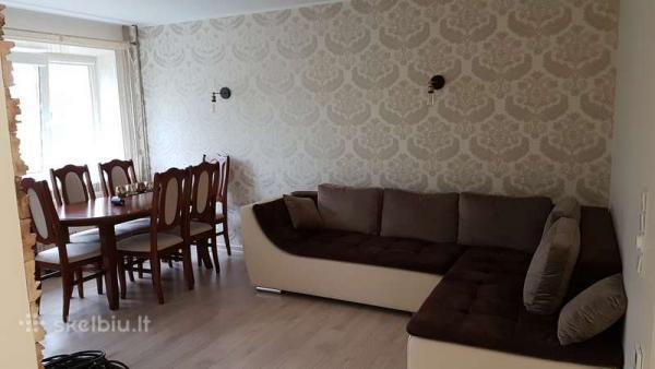 3 kambarių suremontuotas butas LAUKININKŲ G.-0