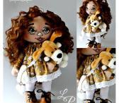 Rankų darbo lėlės handmade interjerinės lėlės-0
