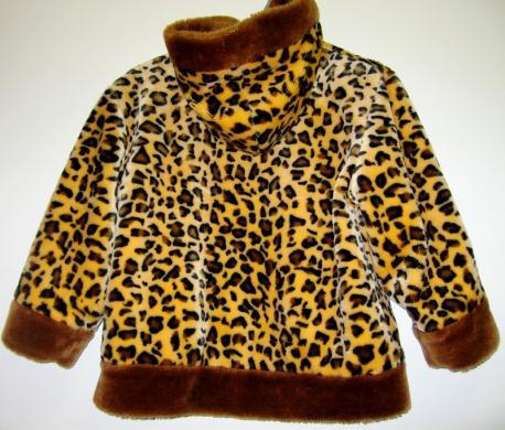 Dailus paltukas 4-5 metų mergaitei, 110 cm dydis, 10eur-1