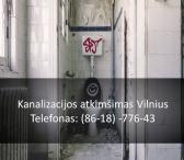 Kanalizacijos atkimšimas Vilnius 861877643-0