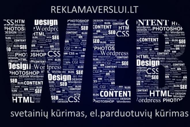 Internetinių svetainių kūrimas. web sprendimai-0