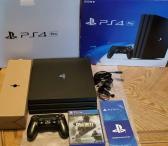 Visiškai nauja Sony Ps 4 Pro 1tb konsolė su žaid-0