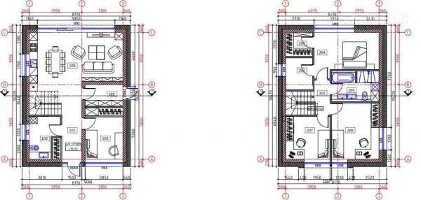 Parduodamas naujos statybos namas Klaipėdoje m. netoli centro-4
