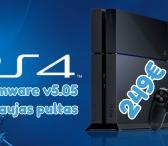 PS4 v5.05 nulaužimas, atrišimas-0