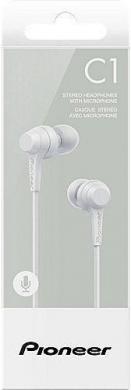 Pioneer stereo ausines su mikrofonu, naujos 15e.-0