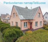 Parduodamas gyvenamasi namas Telšiuose!-0