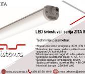 Automatikos sistemos pasiūlymas: LED šviestuvai ZITA IP67-0