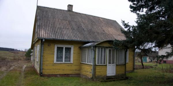 Rastinis namas prie Nevėžio upės su pakrante su 21 aro žemės-2