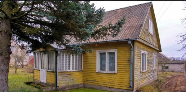 Rastinis namas prie Nevėžio upės su pakrante su 21 aro žemės-3