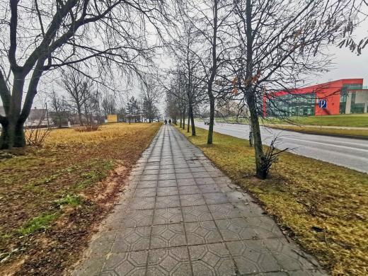 Panevėžys, Molainiai, G. Petkevičaitės-Bitės g., namų valdos, daugiabučių statybos, komercinės paskirties sklypas-6