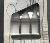 Stalo įrankių rinkinys KURSIV-0
