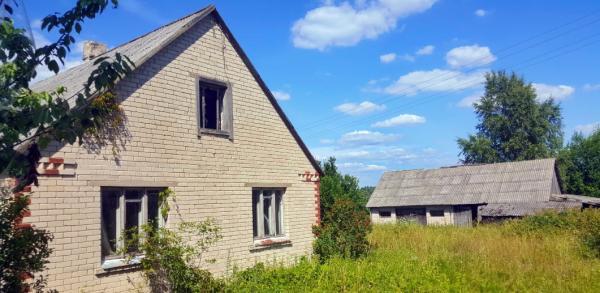 Mūrinis namas netoli Daugailių miestelio ir ežerų-0
