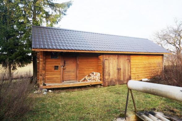 Parduodama pirtelė-namas su tvenkiniu vos 4 km nuo Anykščių, Storių k.-4