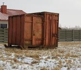 Parduodu statybinį namelį -konteinerį-0