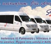 Vežame keleivius iš Panevėžio į Vilniaus, Kauno, Rygos oro uostus ir Rygos keltą-0