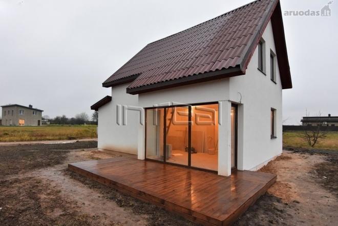 Namas prie Šiaulių jūros naujos statybos namas Bubiuose, Šiauliu raj. * 80 kv.m bendro ploto.-0