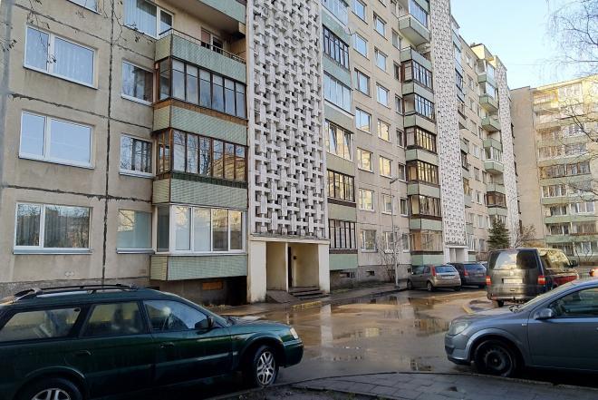Parduodamas dviejų kambarių butas. Vilniuje-0