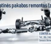 Pneumatinės pakabos remontas (airmatic) Vilniuje-0