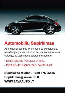 Skubus-Brangus auto supirkimas +37067505535-6