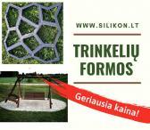Trinkelių formos, formos betonui, sodo takeliams https://silikon.lt/-0