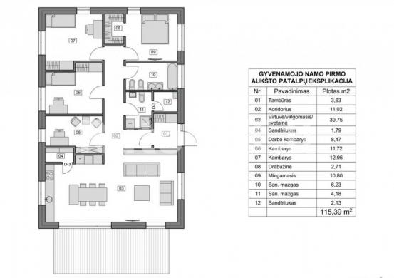 Parduodamas namas Kalotėje-4