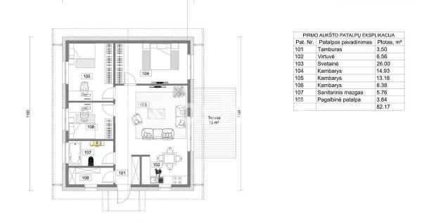 Parduodamas namas Klemiškės II kaime-2