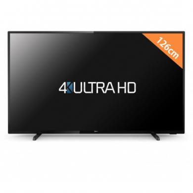 """PHILIPS Smart LED ultra slim, pixel plus ultra HD TV, 4K, 50"""" 126cm, Kaip naujas, kaina 349e. Su dokumentais, pilnu komplektu, yra galimybė atvezti už papildomą kainą.-0"""