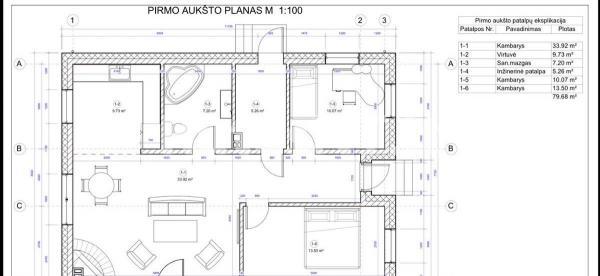 Parduodamas namas Klausmyliuose-3