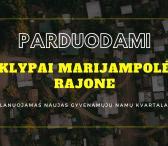 Parduodami Sklypai Marijampolės rajone. Planuojamas naujas gyvenamųjų namų kvartalas.-0