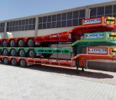 4 axle lowbed semi trailer-0