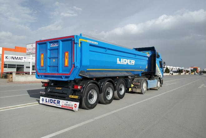 Dumper semi trailer-0