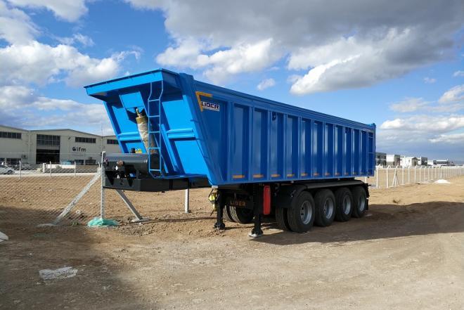 Tipper semi trailer from manufacturer-0