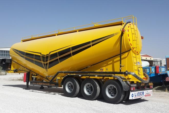 Cement tanker trailer-0