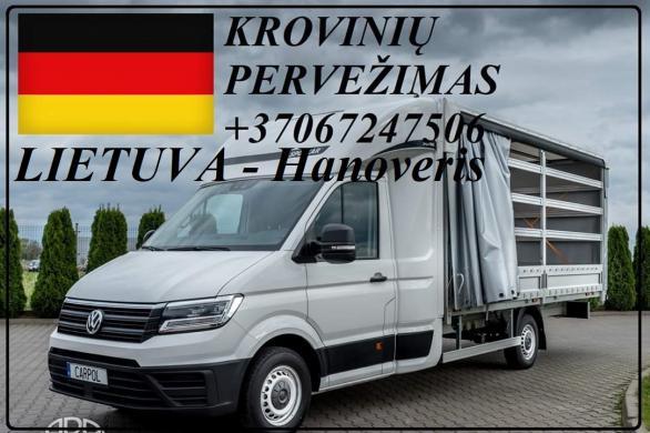 Hanoveris - Lietuva - Hannover ! Greitai, atsakingai, patikimai ir geromis kainomis teikiame transporto paslaugas Lietuva - Vokietija / Germany - Lietuva Nebrangiai pervežame įvairius krovinius. Vežame pilnus, dalinius ir express krovinius kiekvieną savai-0