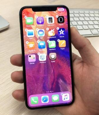 NAUJAS iPHONE X-512GB+4G+LT KALBA+DEKLAS DOVANU.-1