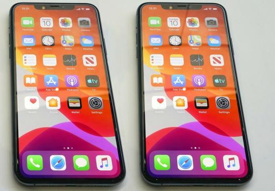 NAUJAS-iPHONE 11 MAX PRO-512GB+4G+DEKLAS DOVANU.-5