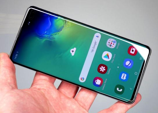 NAUJAS-GALAXY S10-AMOLED-GORILLA GLASS 5-512GB+4G+DEKLAS-4
