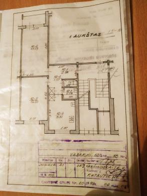 Jonavoje parduodamas įrengtas 2 kambarių butas už 34000€-7