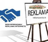 Skelbimų talpinimas, reklama internete. Visos reklamos paslaugos-0