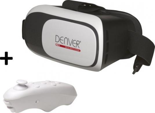 Denver virtualios realybės akiniai su pulteliu, nauji su dezute, kaina- 20e.  Vr Box virtualios realybės akiniai su pulteliu, kaip nauji, kaina- 20e.-1