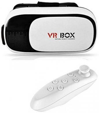 Denver virtualios realybės akiniai su pulteliu, nauji su dezute, kaina- 20e.  Vr Box virtualios realybės akiniai su pulteliu, kaip nauji, kaina- 20e.-0