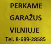 Perkame mūrinius, požeminius, daugiaaukščius garažus Vilniuje-0