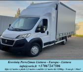 VORIS, UAB ( Kroviniu Pervezimas - Gabenimas / Perkraustymas ) Krovinių Pervežimas Tentiniu Mikroautobusiuku ( daliniai / pilni kroviniai ) , LIETUVA - EUROPA - LIETUVA ilgis 4.2m. x plotis 2.2m. x aukštis 2.2m. - svoris iki 1200kg. EL.PAŠTAS: info@voris.-0